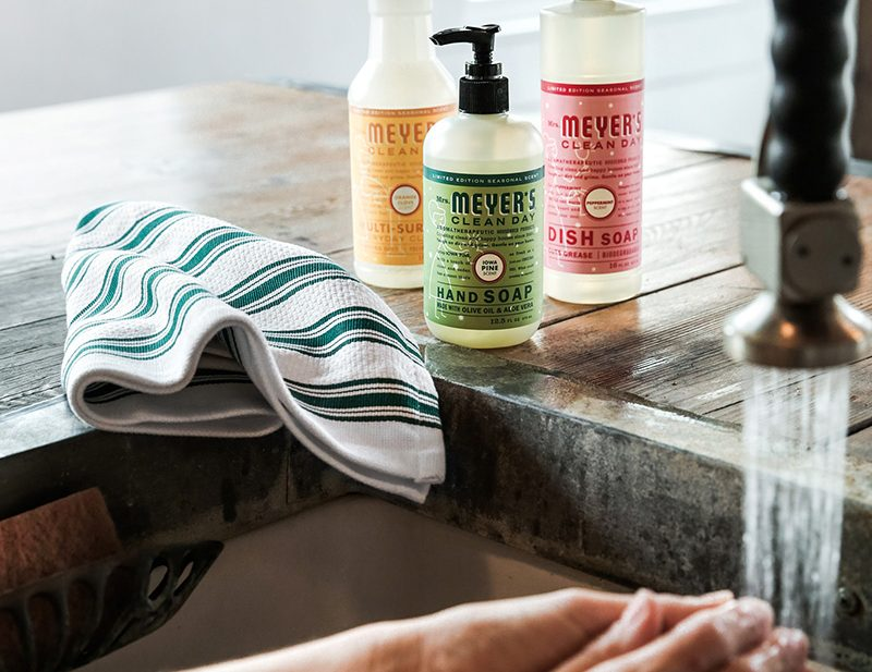 Mrs Meyers Clean Day Holiday Scents: Iowa Pine, Orange Clove and Peppermint