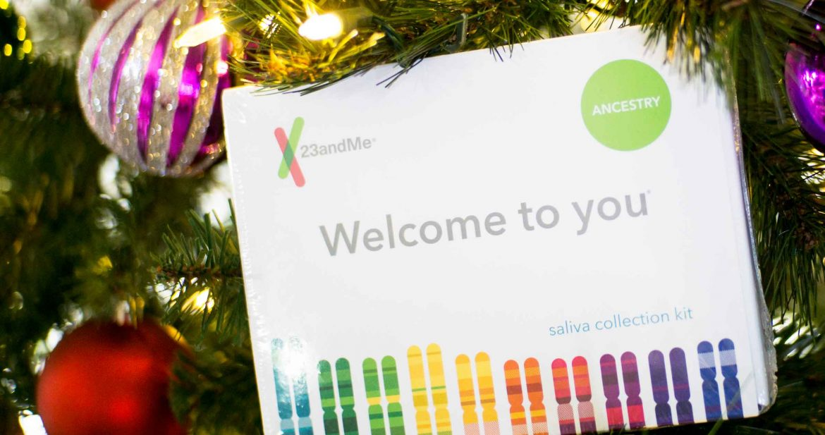 The gift of the year is a DNA test, so I've joined up with 23&me to show you step by step how to test DNA with an easy to complete home saliva DNA kit.