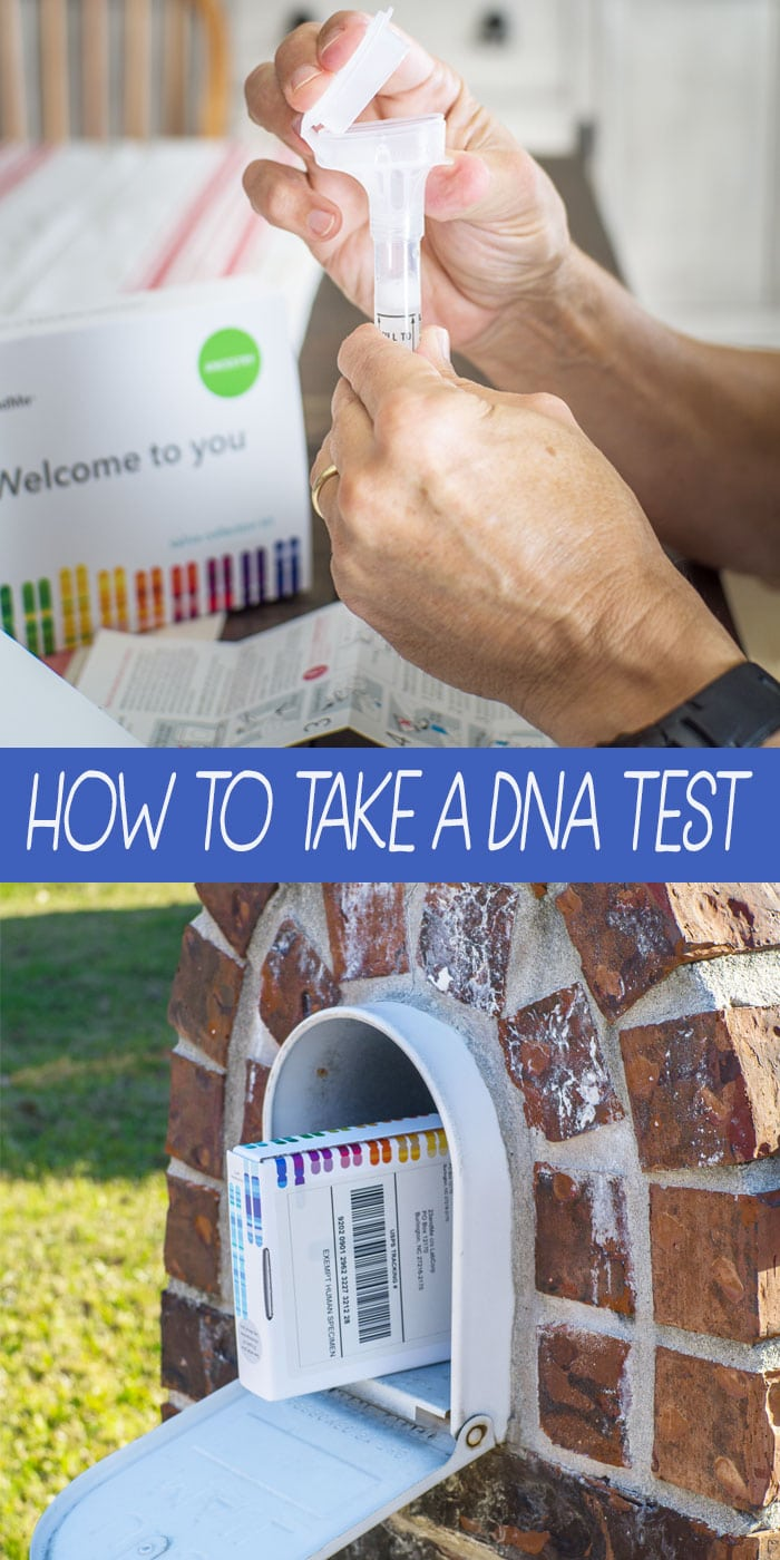 The gift of the year is a DNA test, so I've joined up with 23&me to show you step by step how to test DNA with an easy to complete home saliva DNA kit. #ad #ancestry #genealogy #health #bestgifts2017 #DNA