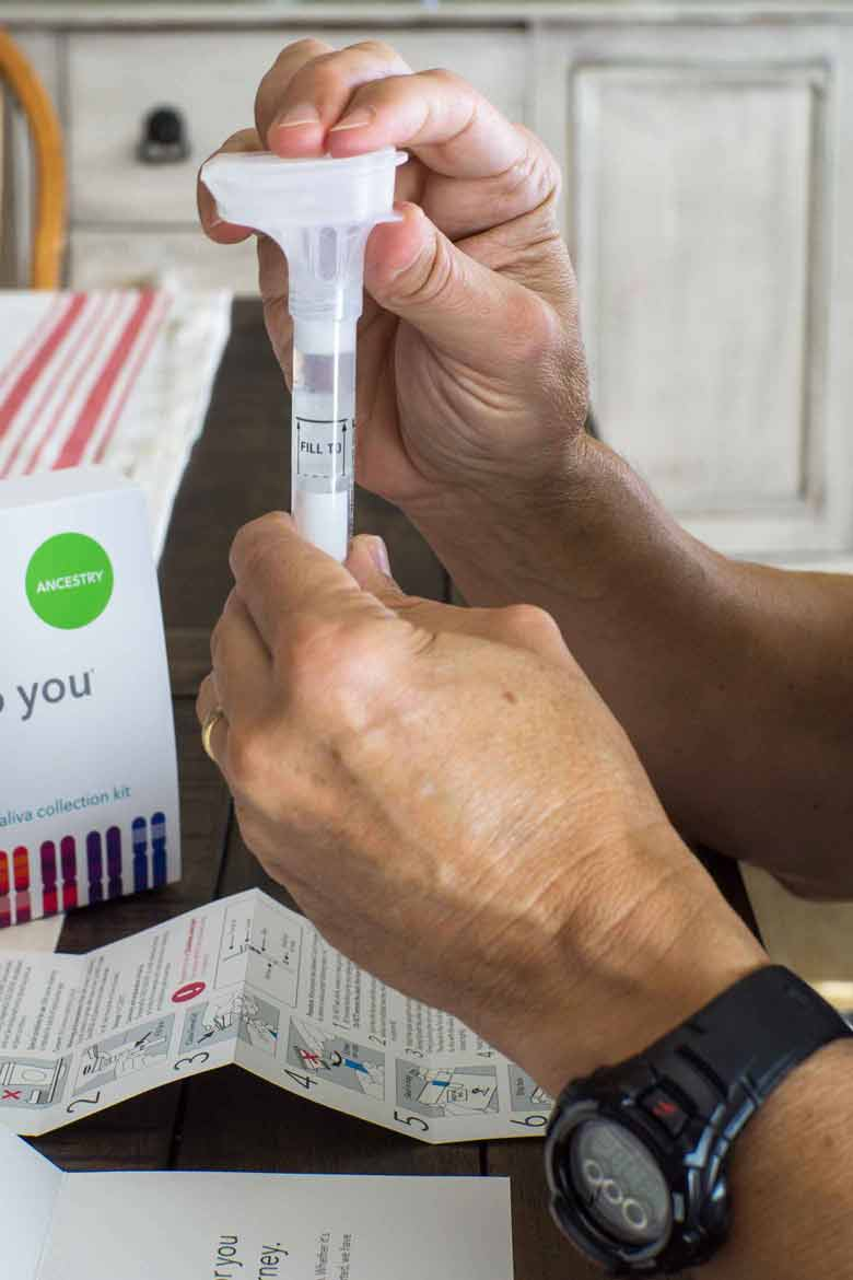 how to take a home ancestry test