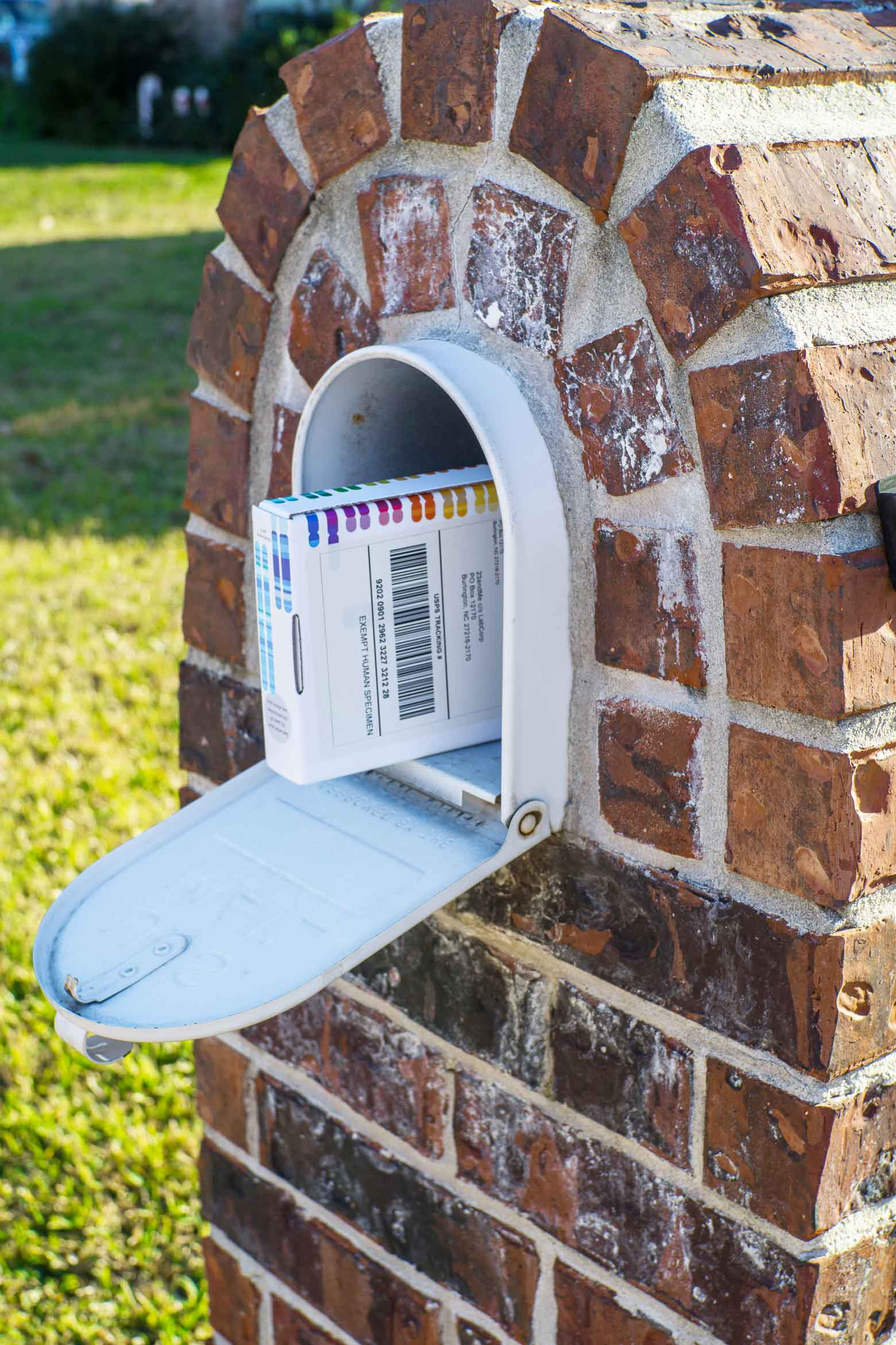 mail a saliva dna test from home