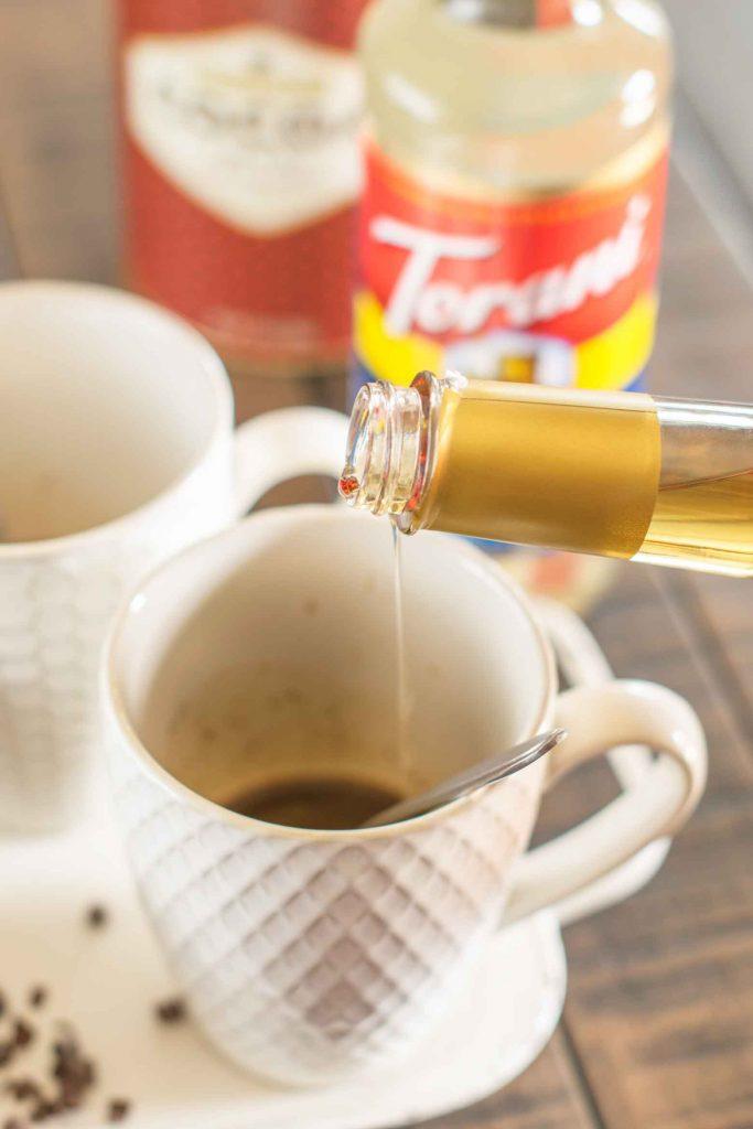 Torani coffee syrups for espresso drinks