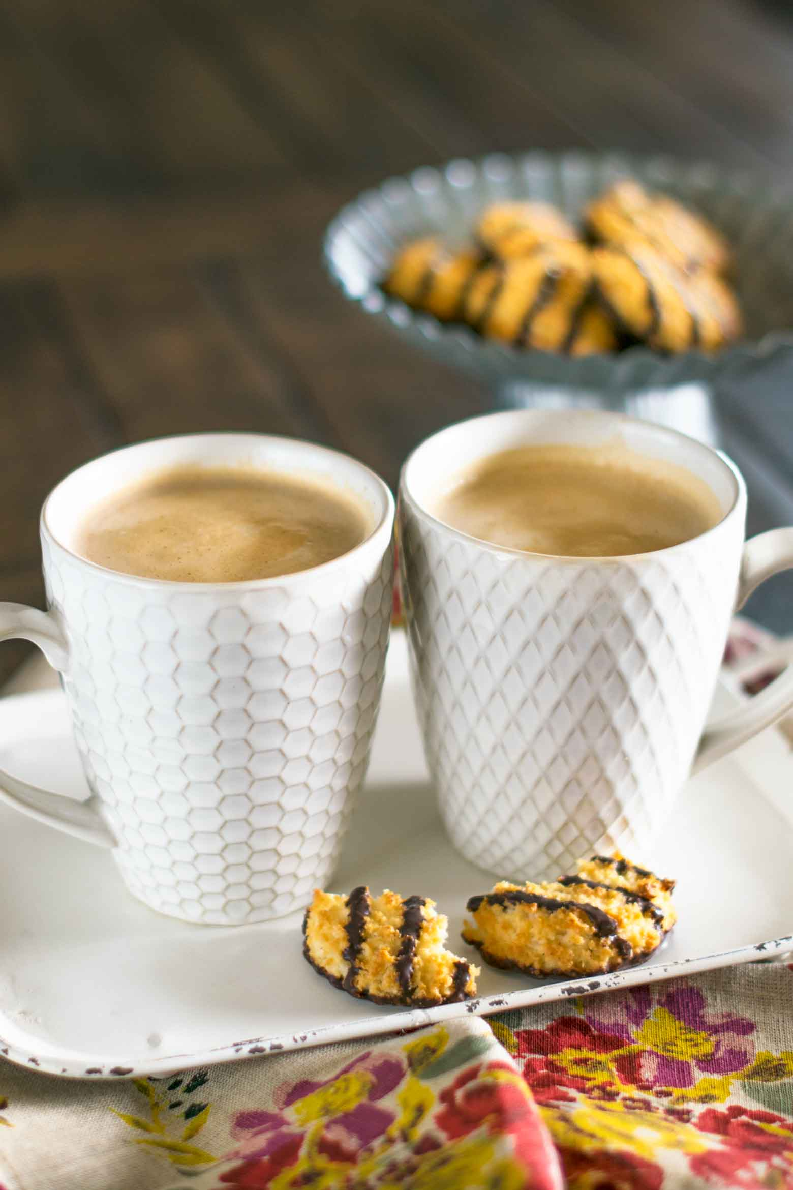 Vanilla caramel mocha lattes are sure to elevate your tastebuds above a plain ho-hum coffee. See the simple recipe for how easy it is to combine these flavors to make a delicious breakfast drink!