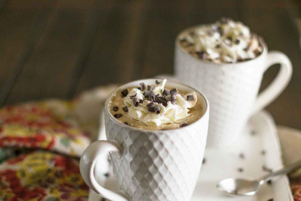 vanilla caramel mochas for breakfast