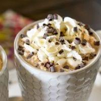 vanilla caramel mochas for your valentine