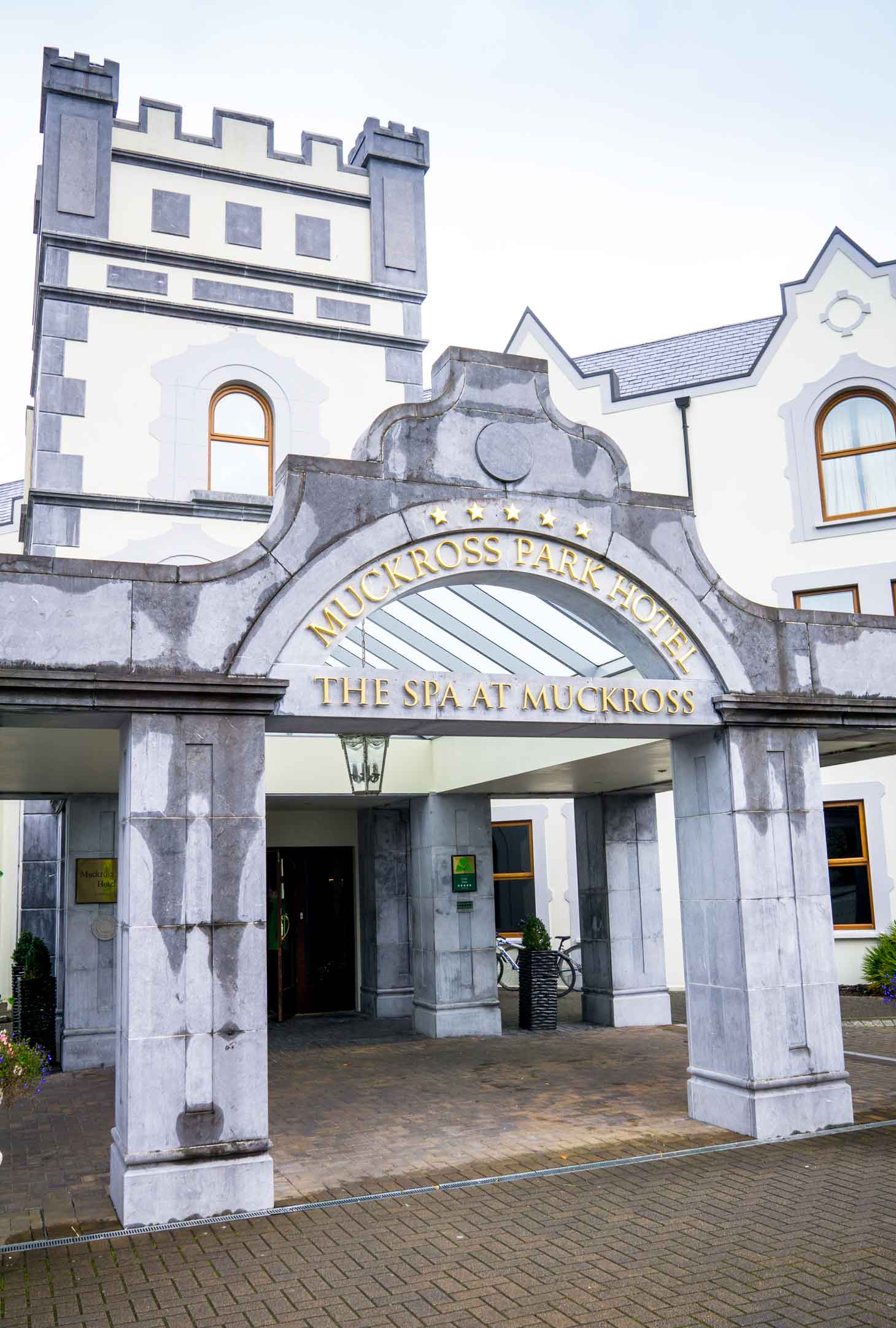 Muckross Park Hotel and Spa south of the town of Killarney outside the Lakes of Killarney