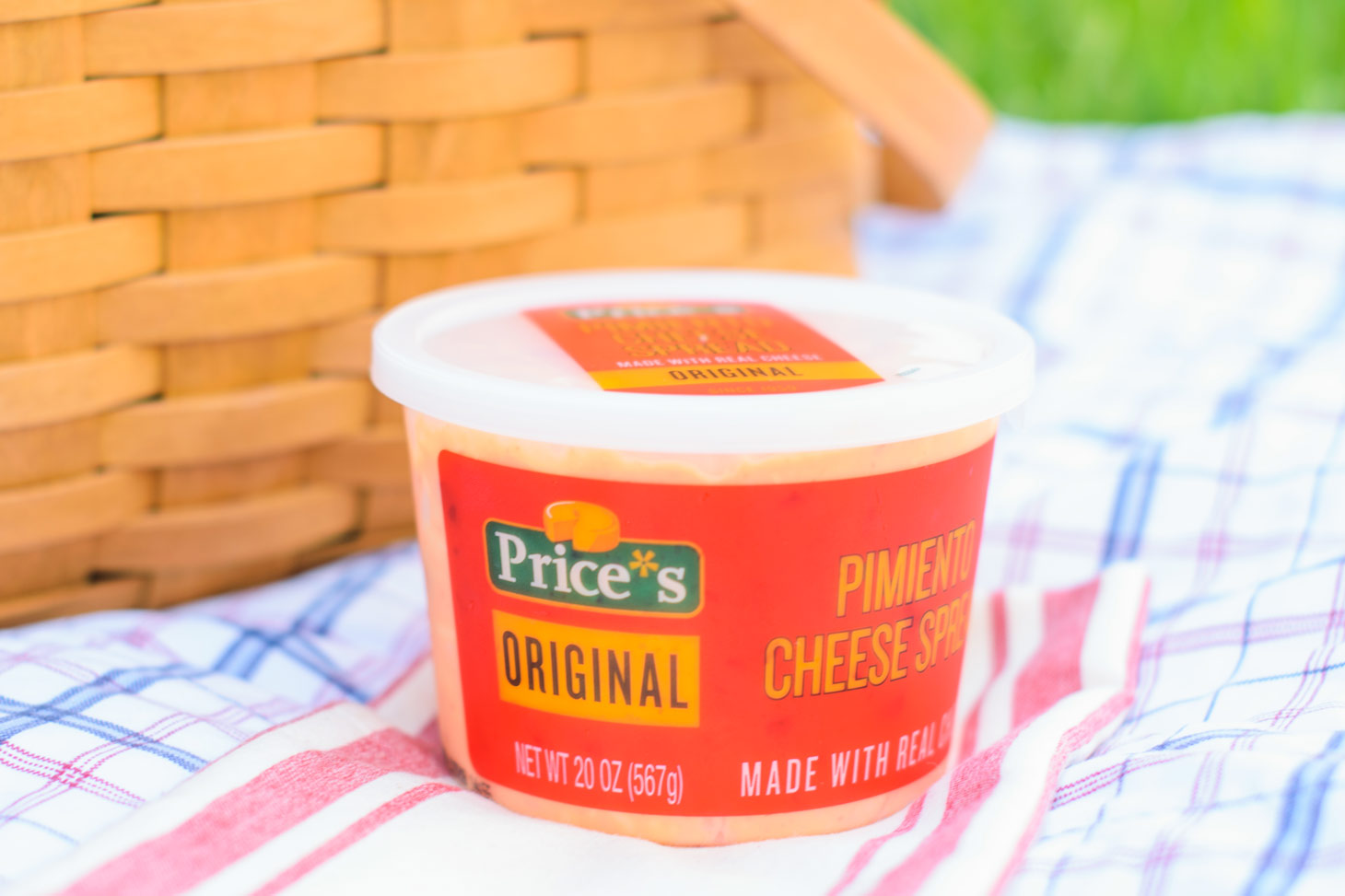Prices original pimiento cheese spread for a picnic