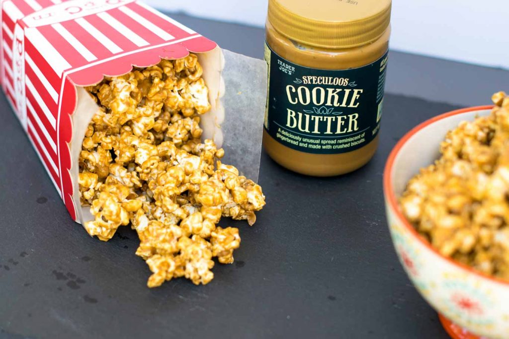 How to make Cookie Butter Popcorn