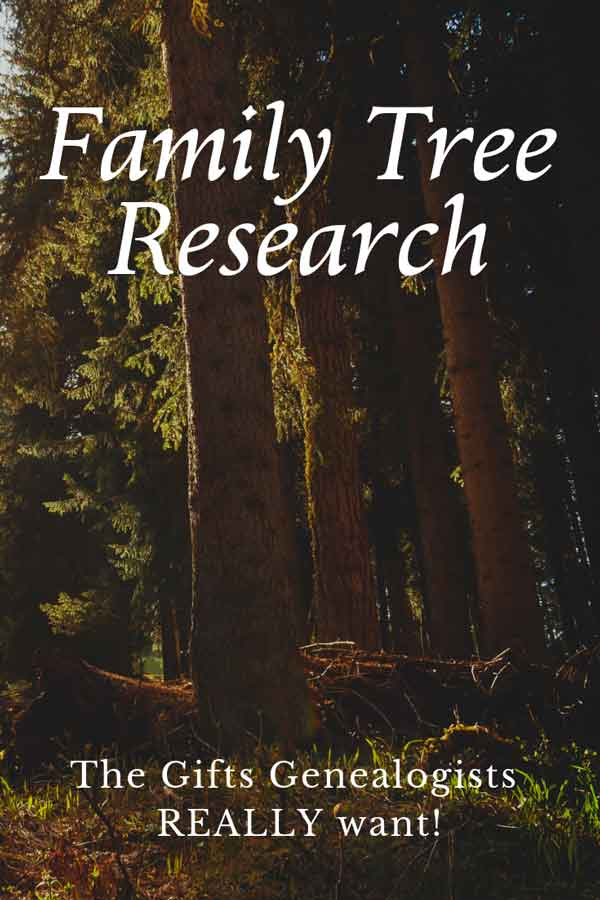 Gifts for genealogy researchers to make family tree research easier on them and their wallet